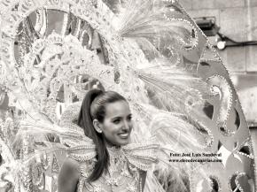 El Carnaval de Las Palmas en blanco ynegro